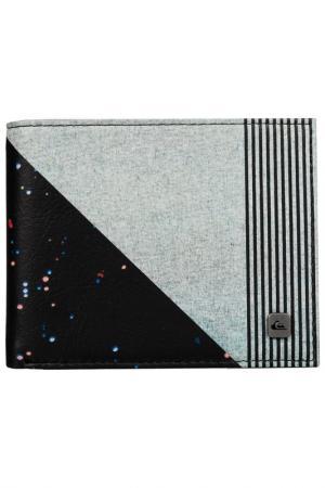 Бумажник Quiksilver. Цвет: черный