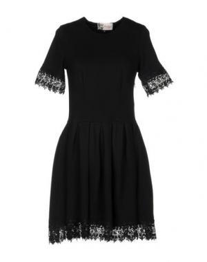 Короткое платье JAEGER. Цвет: черный