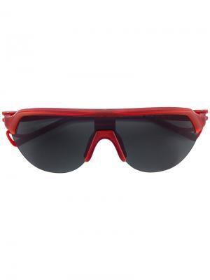 Солнцезащитные очки Nagata District Vision. Цвет: красный