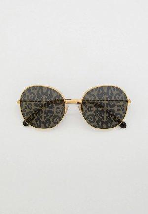 Очки солнцезащитные Dolce&Gabbana DG2243 02/P. Цвет: золотой