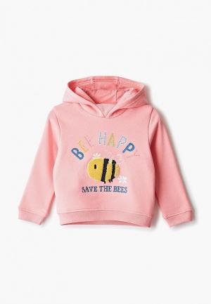 Худи Marks & Spencer. Цвет: розовый