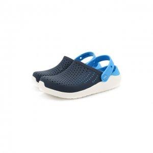 Сабо LiteRide Clog K Crocs. Цвет: синий