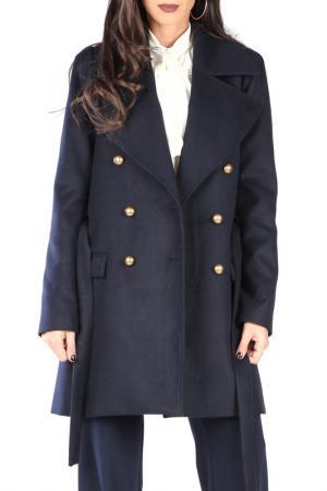 Пальто CARLA BY ROZARANCIO. Цвет: синий