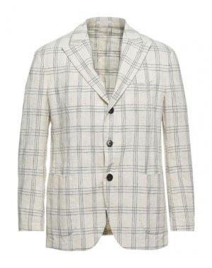 Пиджак GABRIELE PASINI. Цвет: белый
