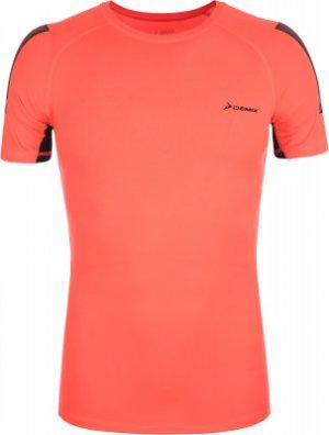Футболка мужская , размер 46 Demix. Цвет: оранжевый