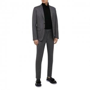 Шерстяной костюм Dsquared2. Цвет: серый