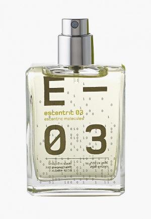 Туалетная вода Escentric Molecules 03 EDT 30 мл cased. Цвет: прозрачный