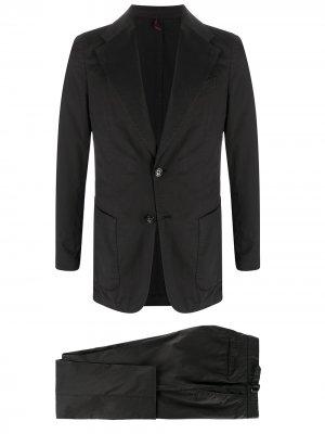 Delloglio костюм-двойка узкого кроя Dell'oglio. Цвет: черный