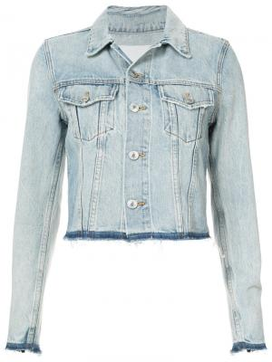 Джинсовая куртка Re/Done. Цвет: синий