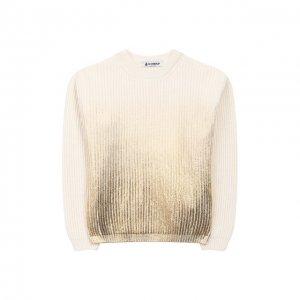 Пуловер Dondup. Цвет: белый