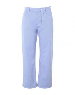 Джинсовые брюки MARIOS. Цвет: сиреневый