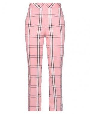 Повседневные брюки ANNARITA N TWENTY 4H. Цвет: розовый