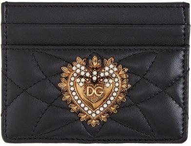 Black Devotion Card Holder Dolce & Gabbana. Цвет: 80999 black