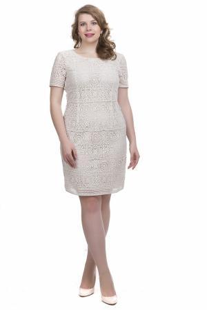 Платье Apanage. Цвет: бежевый