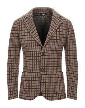Пиджак +39 MASQ. Цвет: хаки