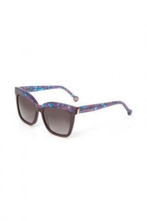 Очки солнцезащитные Enni Marco. Цвет: фиолетовый, розовый, голубой