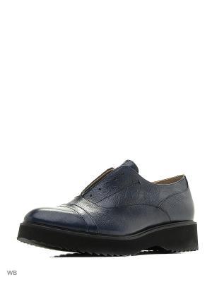 Ботинки LOGAN. Цвет: синий