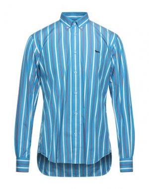 Pубашка HARMONT&BLAINE. Цвет: лазурный