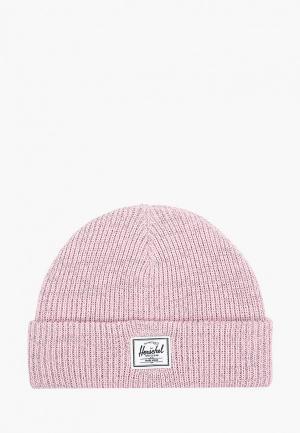 Шапка Herschel Supply Co Abbott Youth. Цвет: розовый