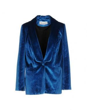 Пиджак SELF-PORTRAIT. Цвет: синий