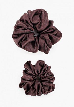 Комплект Silk me. Цвет: коричневый