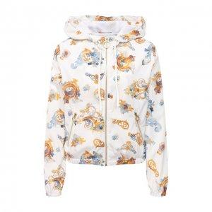 Ветровка Versace Jeans Couture. Цвет: белый