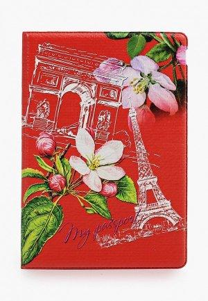 Обложка для паспорта Artio Nardini. Цвет: красный