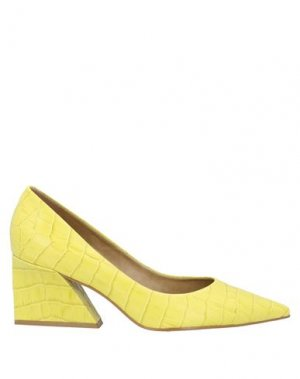 Туфли CARRANO. Цвет: желтый