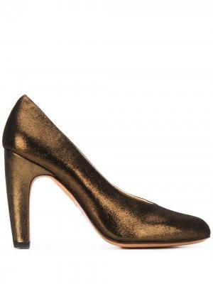Туфли Daira на высоком каблуке Chie Mihara. Цвет: золотистый