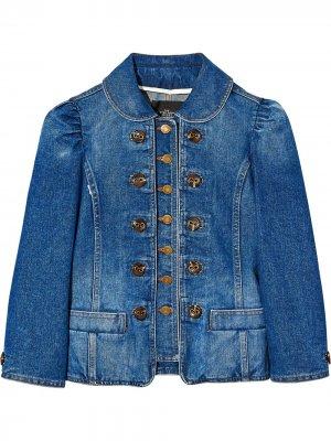 Джинсовая куртка на пуговицах Marc Jacobs. Цвет: черный