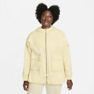 Женская куртка Sportswear Icon Clash (большие размеры) - Белый Nike