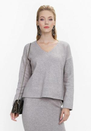 Пуловер Audrey Right. Цвет: бежевый