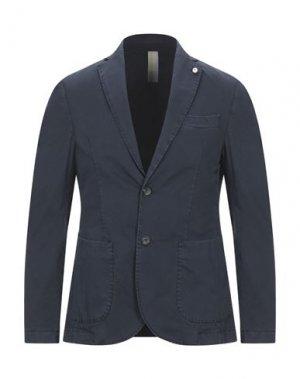 Пиджак GAZZARRINI. Цвет: темно-синий