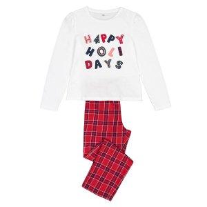 Пижама LaRedoute. Цвет: красный