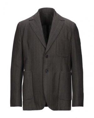 Пиджак ACNE STUDIOS. Цвет: свинцово-серый