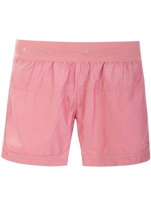 Шорты спортивные STELLA MCCARTNEY SPORT. Цвет: розовый