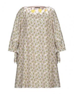 Короткое платье ANDREA TURCHI. Цвет: светло-розовый