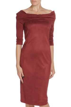 Платье Libellulas. Цвет: красный