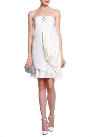 Платье Faith. Цвет: белый