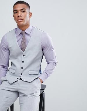 Светло-серый жилет Burton Menswear