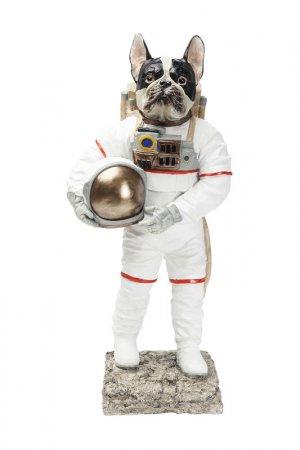 Статуэтка Space Dog 56 см Kare. Цвет: белый