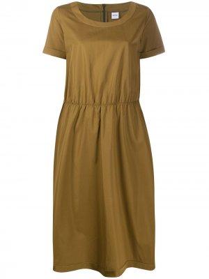 Платье миди Aspesi. Цвет: нейтральные цвета
