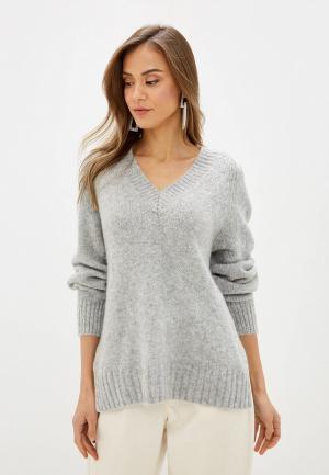 Пуловер Marks & Spencer PER UNA. Цвет: серый