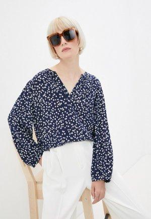 Блуза Gerard Darel. Цвет: синий