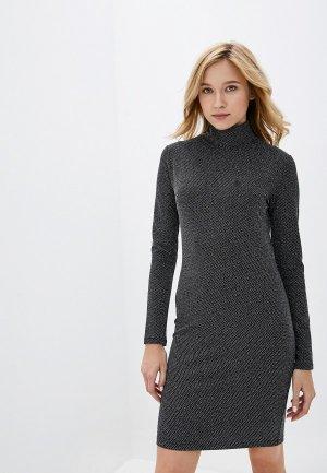 Платье adL. Цвет: серебряный