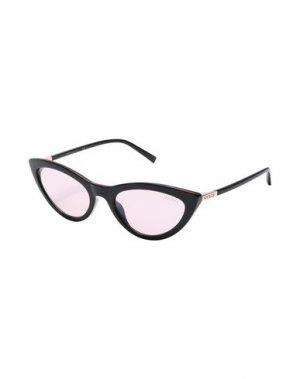 Солнечные очки GUESS. Цвет: черный