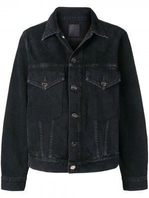 Джинсовая куртка Morton GOLDSIGN. Цвет: черный