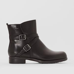 Ботинки кожаные Chesthuntbe CLARKS. Цвет: черный