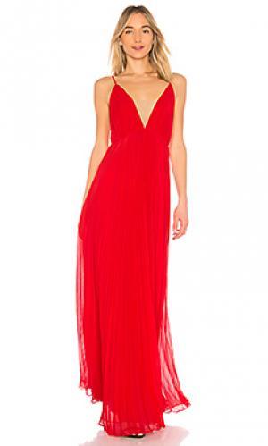 Вечернее платье JILL STUART. Цвет: красный