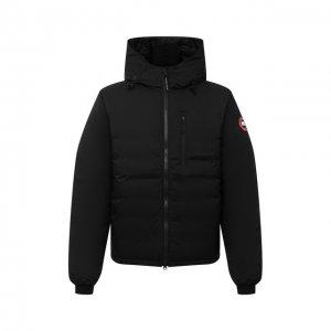 Пуховая куртка Lodge Canada Goose. Цвет: чёрный